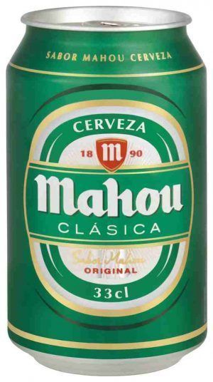 Mahou Clásica Lata 33cl